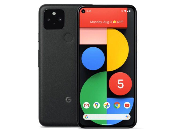 google pixel 5 preto