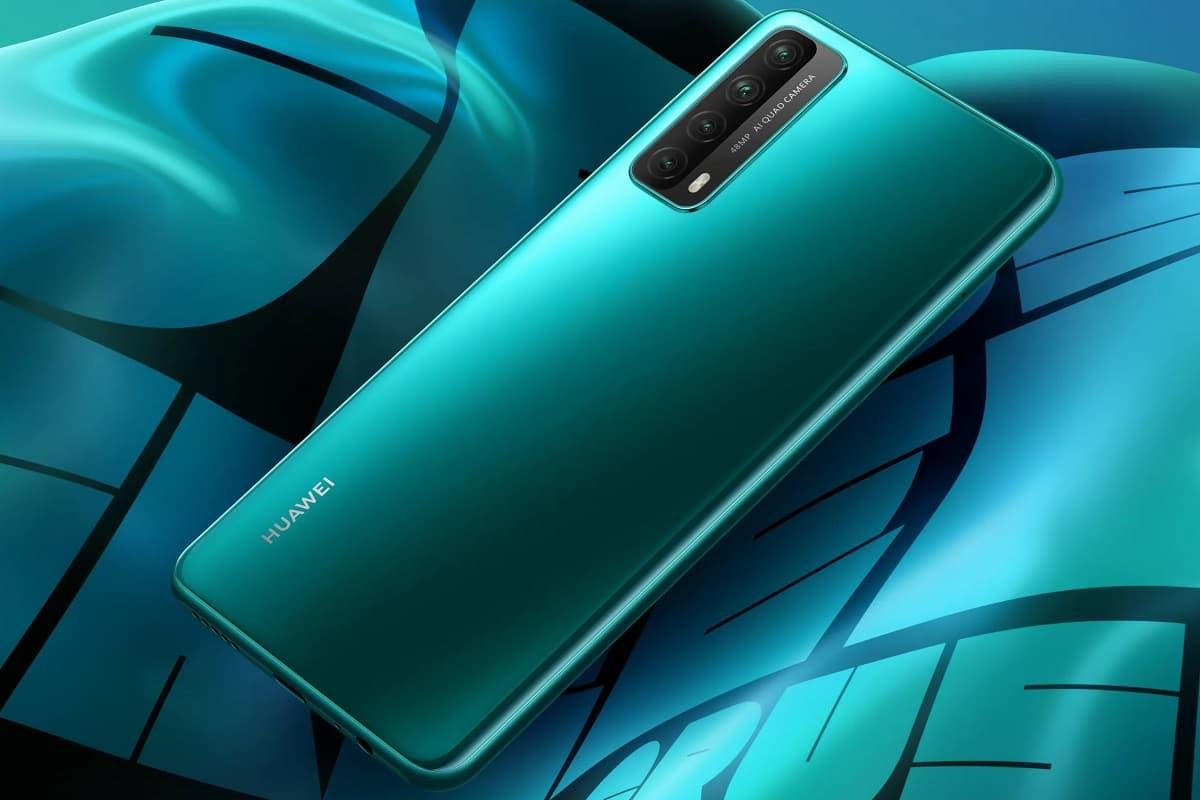 Huawei Y7a lançamento.