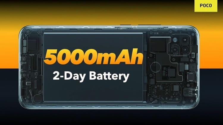poco c3 bateria
