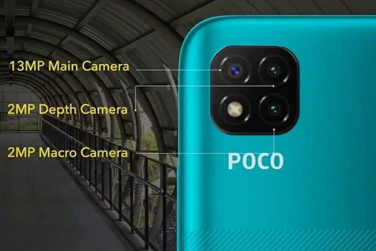 poco c3 cameras oficiais