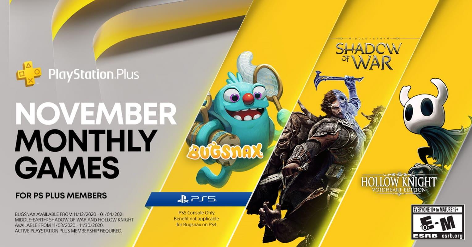 ps plus novembro games