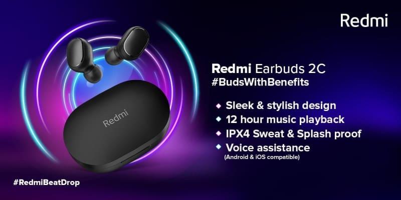 redmi earbuds 2c oficial