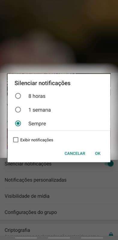 whatsapp silenciar captura