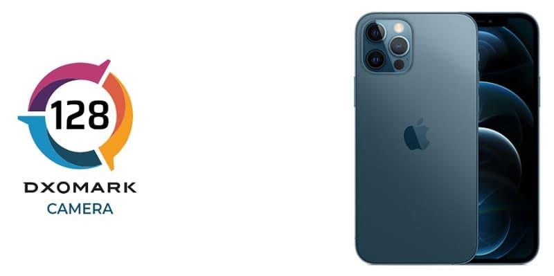 iPhone 12 Pro pontuação no DxOMark.