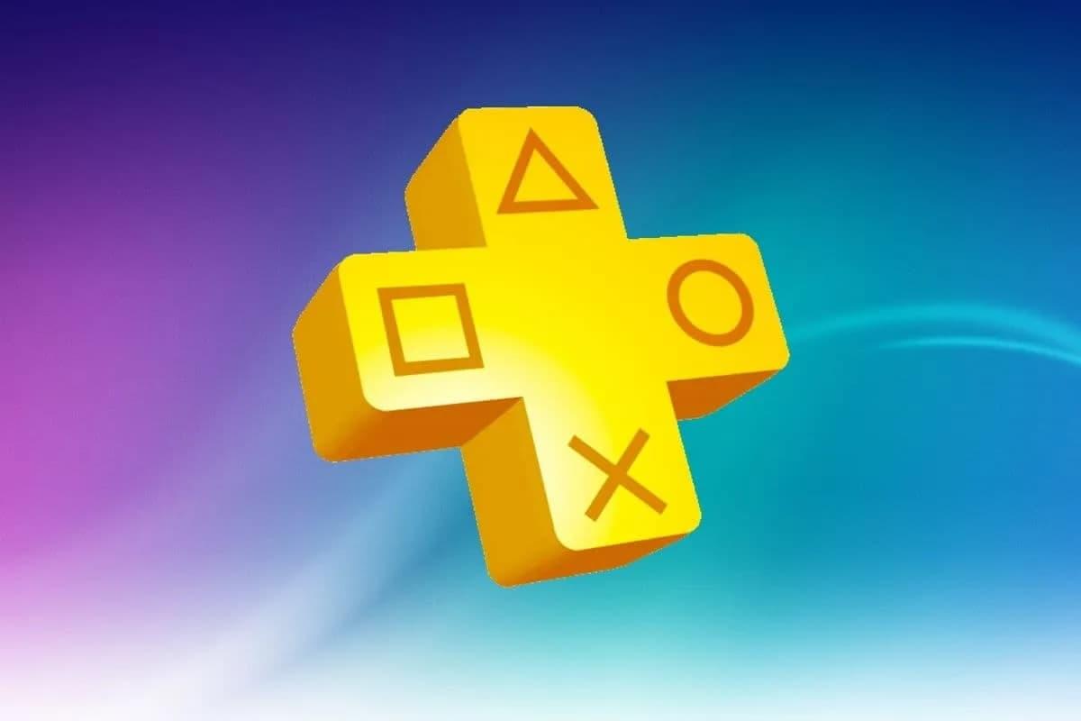 PlayStation Plus logo.