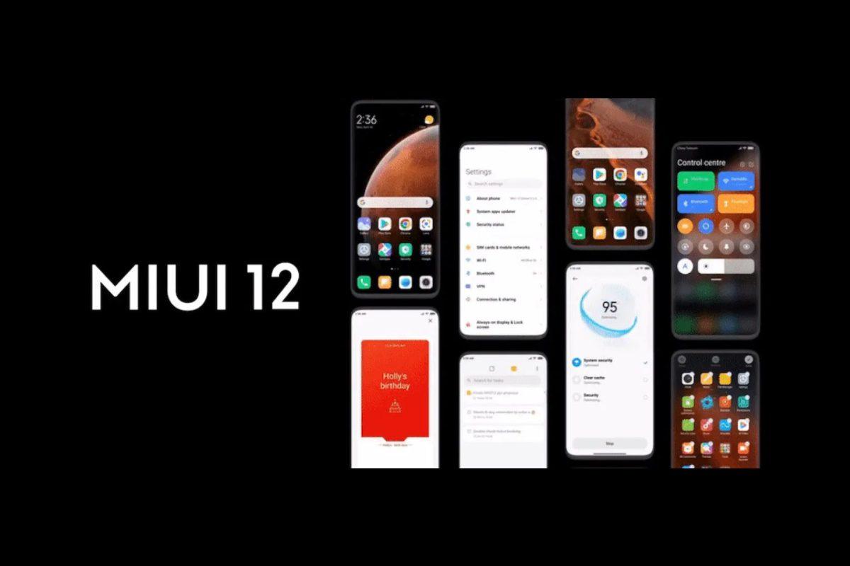 miui 12 dispositivos