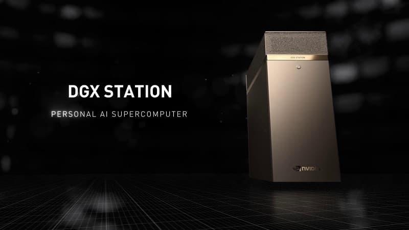 Gabinete NVIDIA DGX Station A100