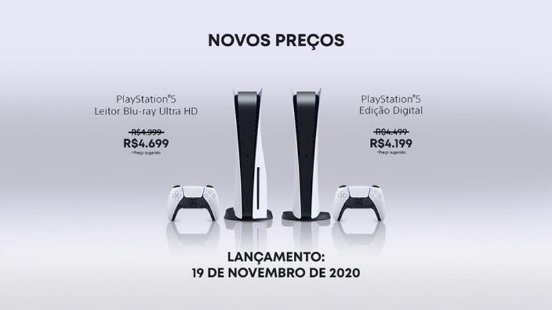 playstation brasil novos precos