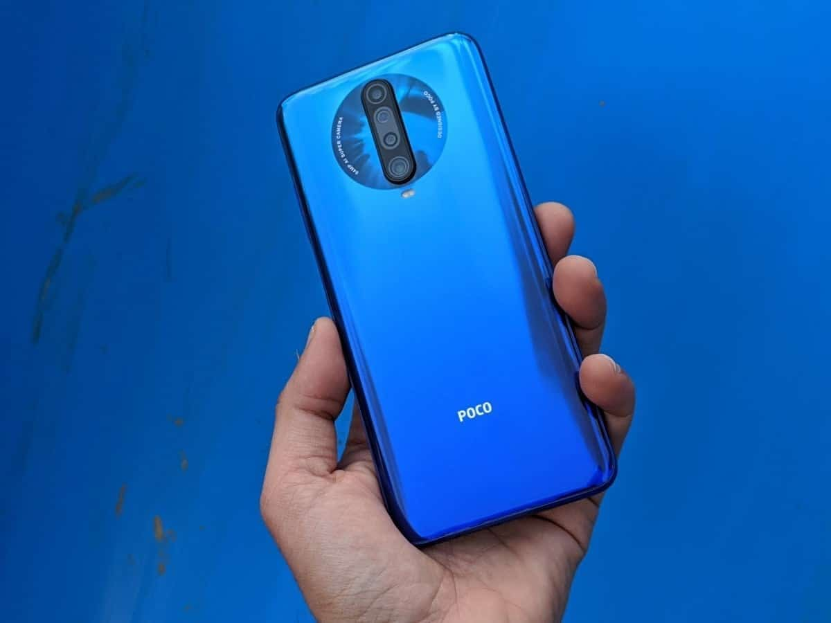 poco f2 pro azul android 11