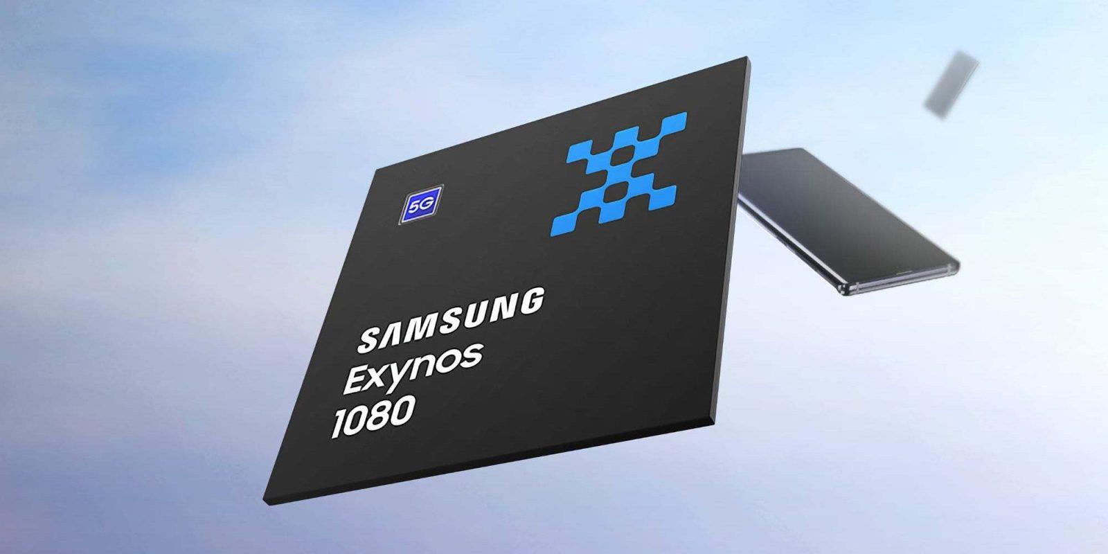 samsung exynos 1080 lancamento