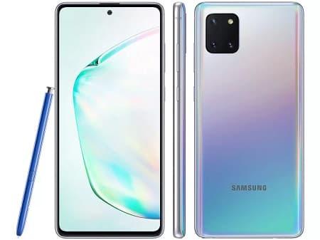 Samsung Galaxy Note 10 Lite.