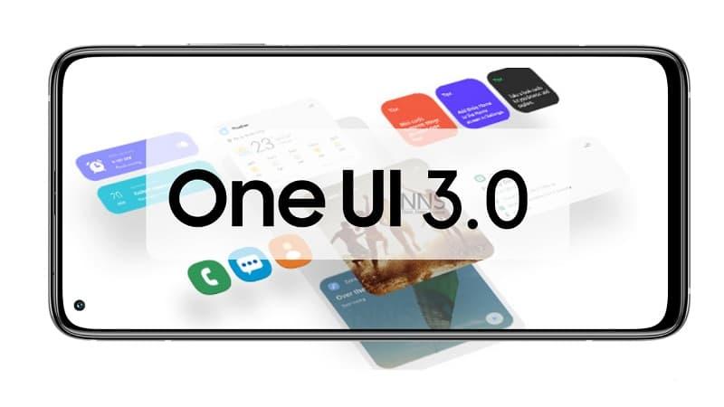 Samsung One UI 3.0 imagem ilustrativa.
