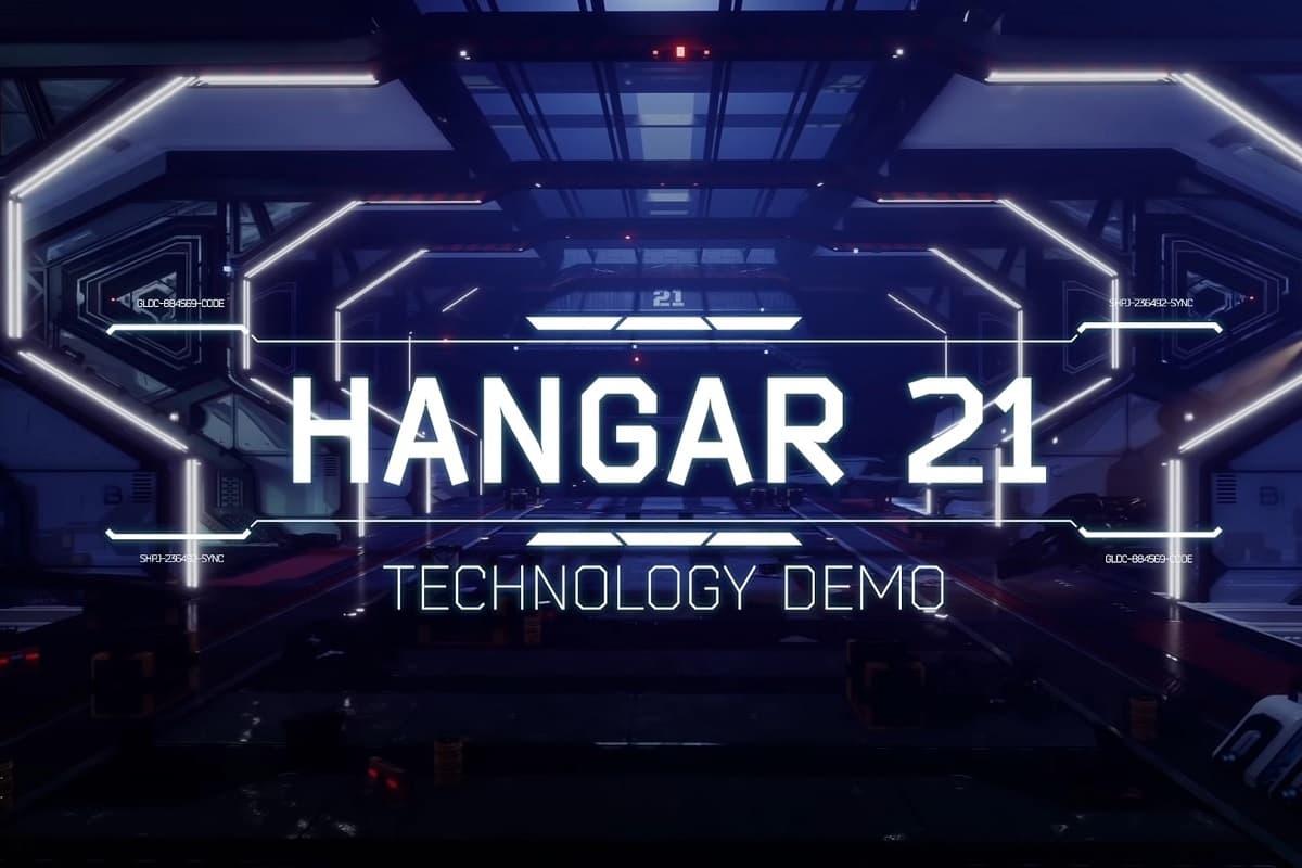 AMD Hangar 21 demo.