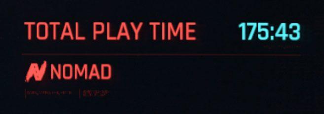 Tempo de jogo de Cyberpunk 2077