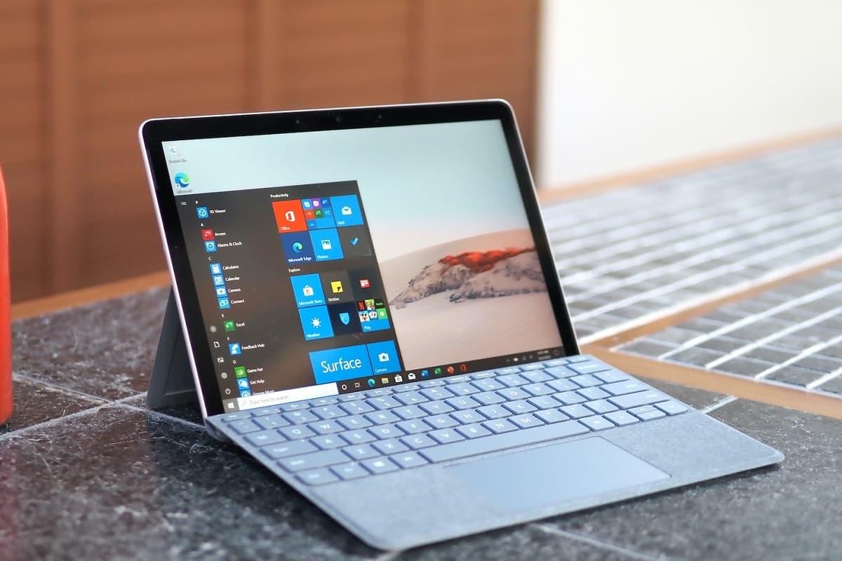 Update Microsoft Surface Go 2.