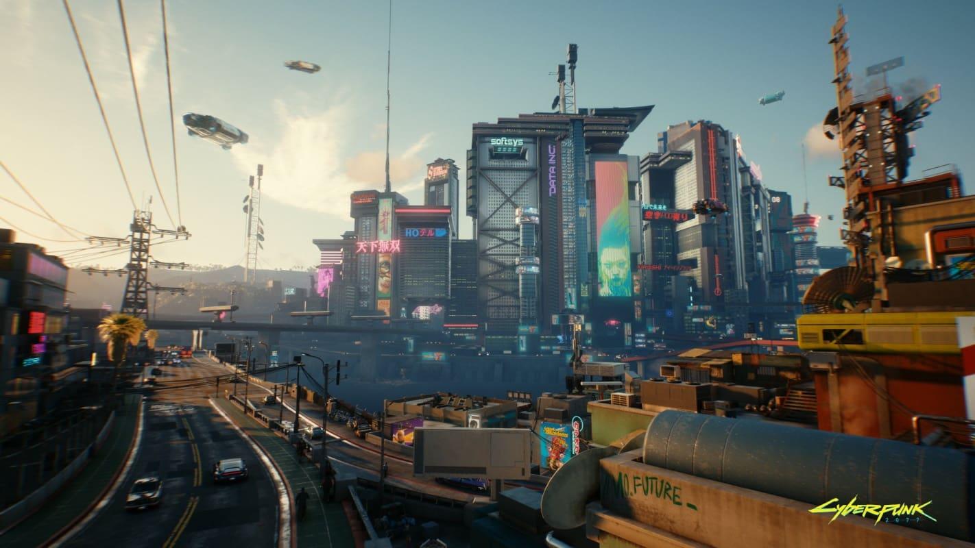 cyberpunk 2077 cidade