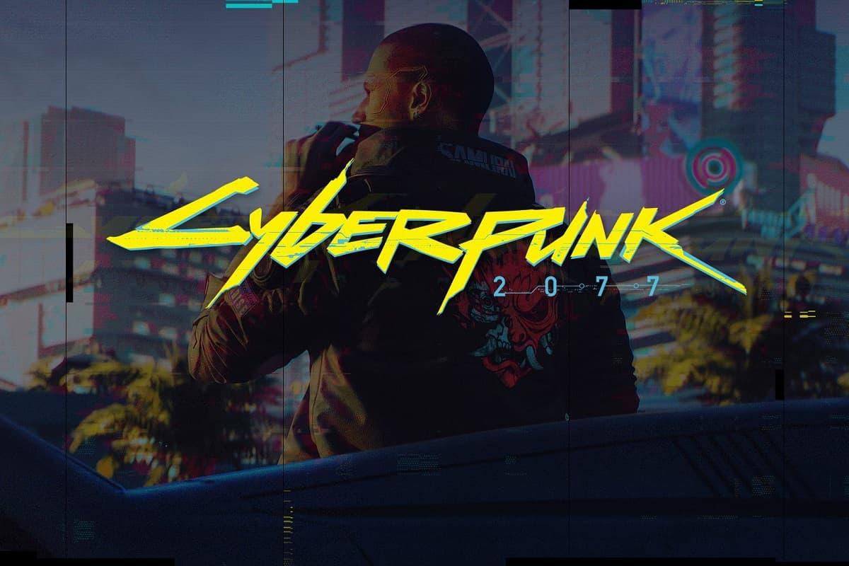 Cyberpunk 2077 imagem e logo.
