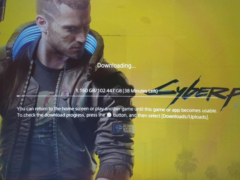 cyberpunk 2077 no ps4