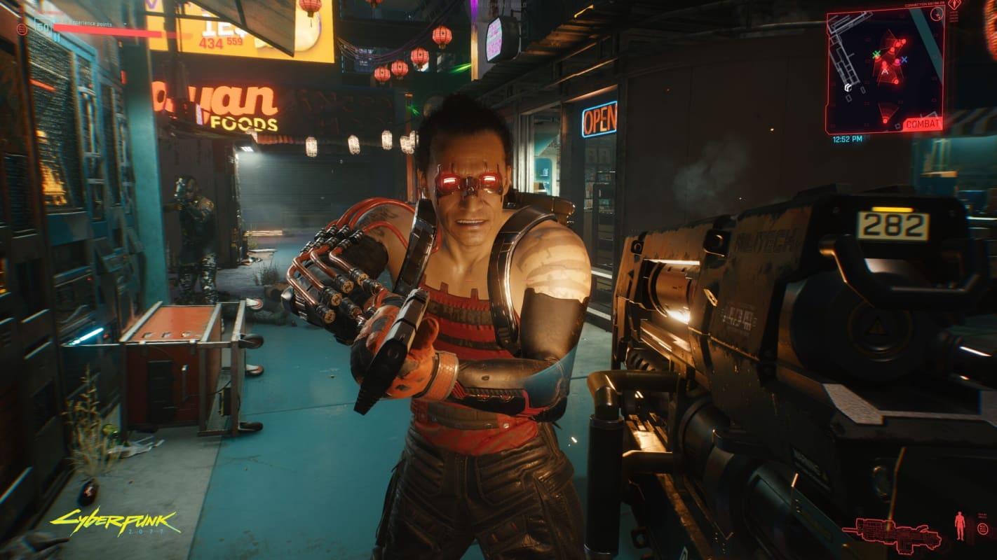 cyberpunk 2077 primeira pessoa