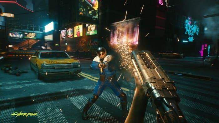 cyberpunk 2077 shotgun