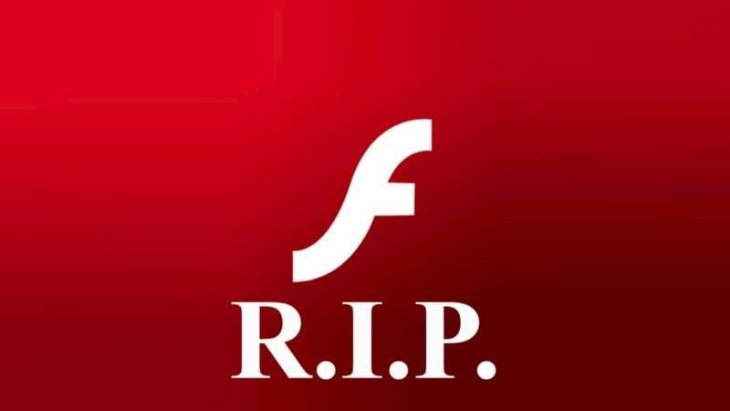 fim do adobe flash player