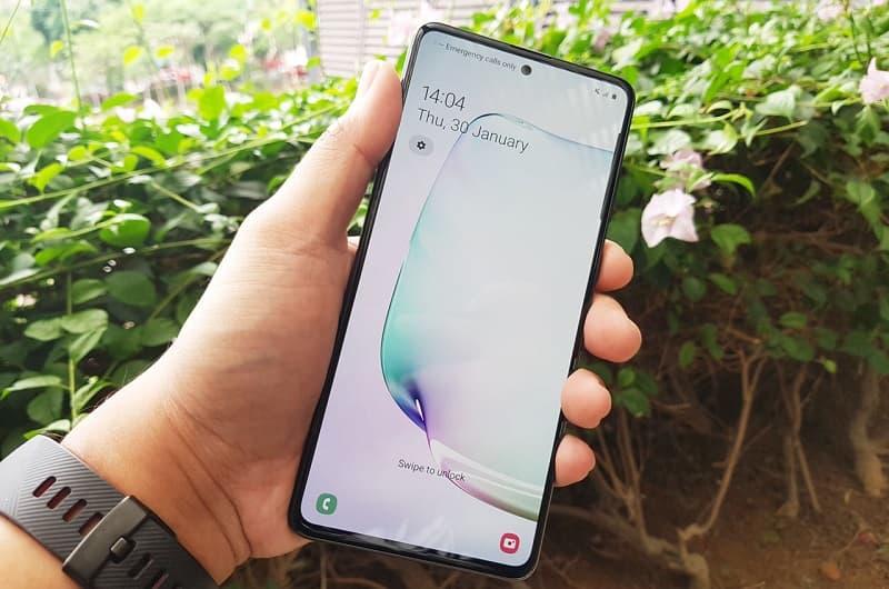 Tela Galaxy Note 10