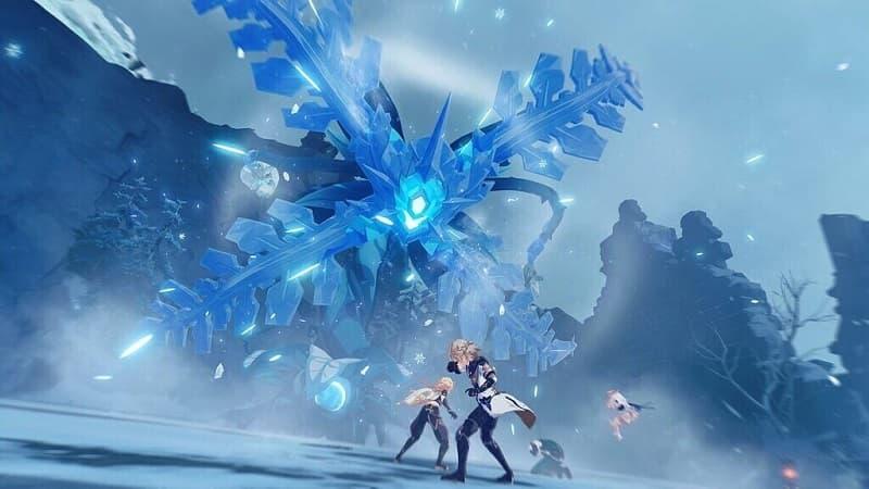 Genshin Impact ganha novo mapa gelado.