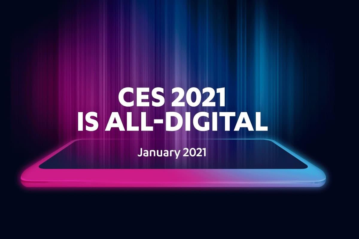 CES 2021 logo.