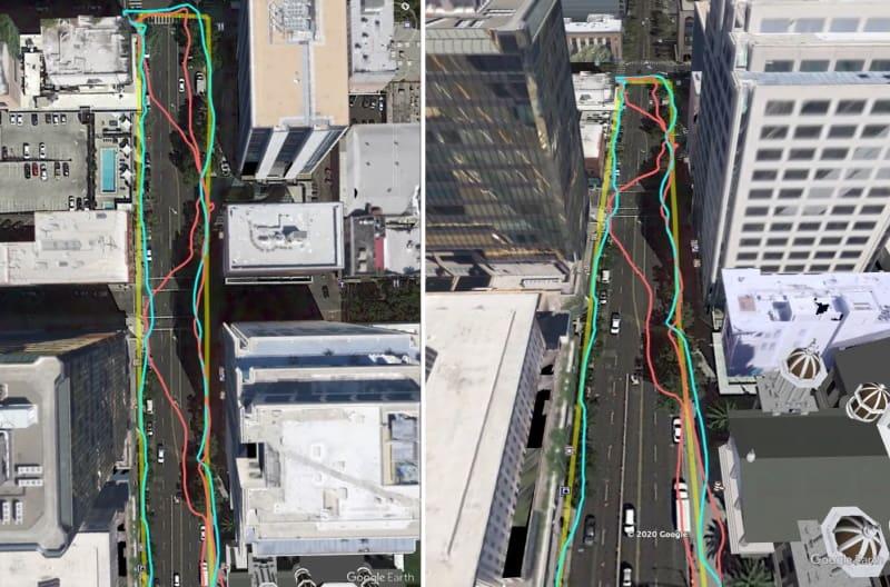 modelos 3d google mapas