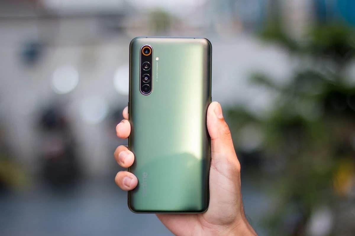 Realme X50 Pro verde.