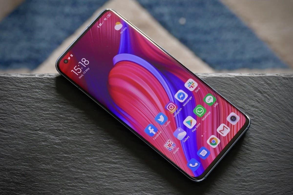 Tela Xiaomi Mi 10 Pro.