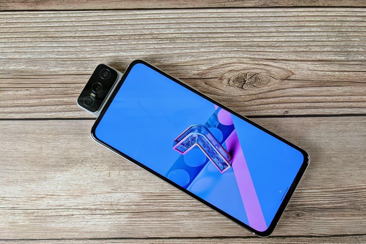 Zenfone 7 Pro tela