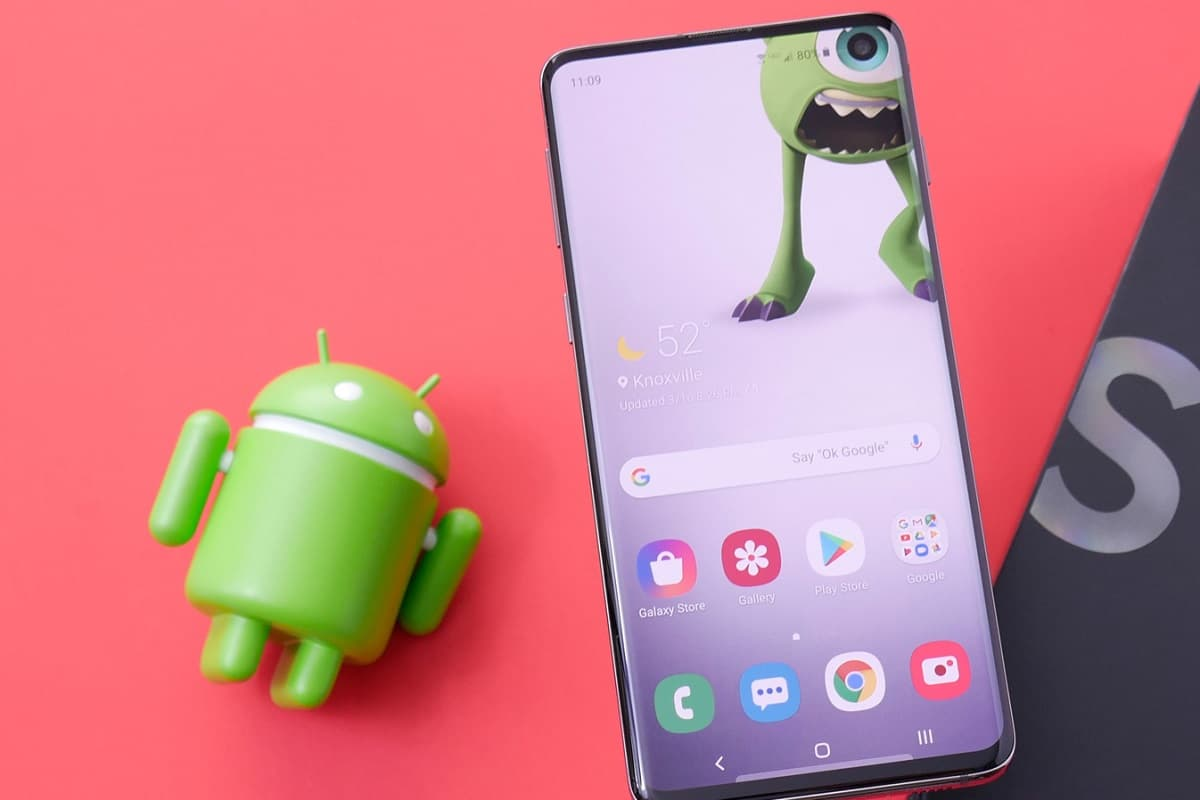Android 11 linha Galaxy S10