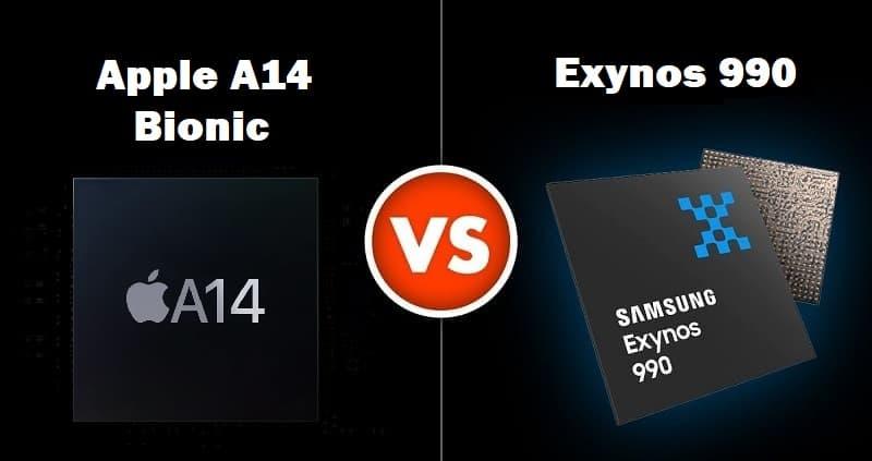 Chips Apple e Samsung
