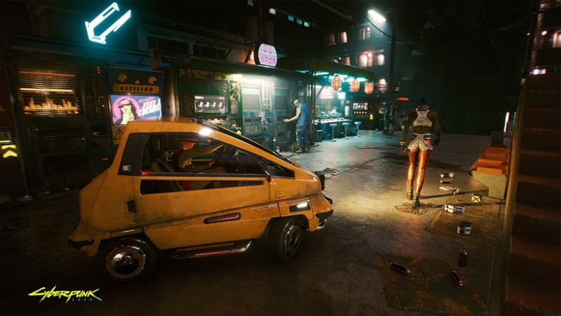 cyberpunk 2077 ruas