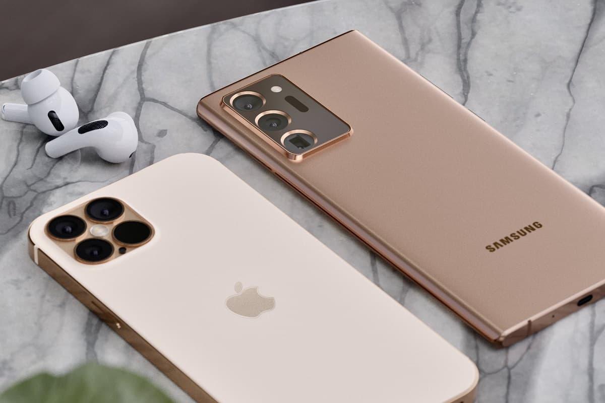 iPhone 12 Pro Max vs. Galaxy Note 20 Ultra