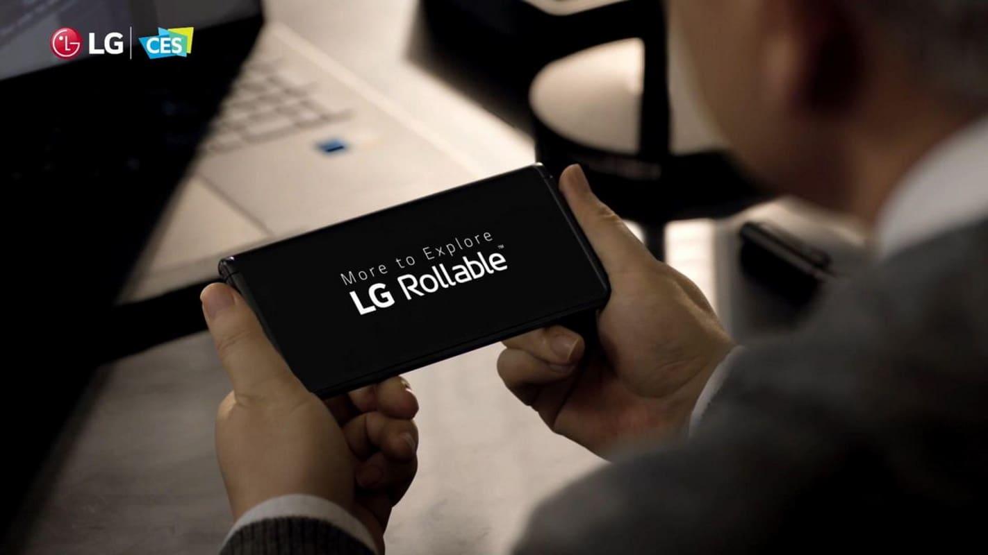 lg rollable lancamento