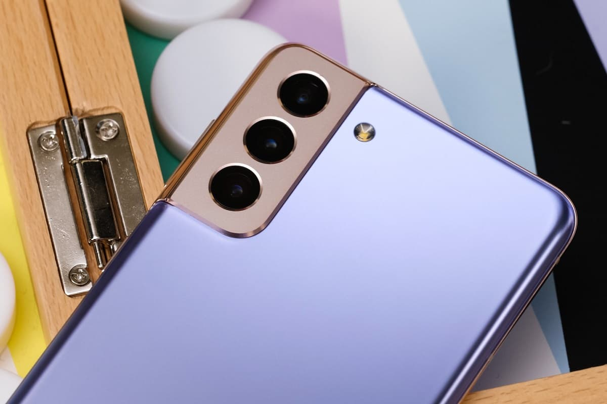 Samsung Galaxy S21 Plus nova cor