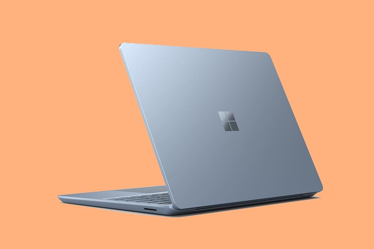 surface laptop go cinza