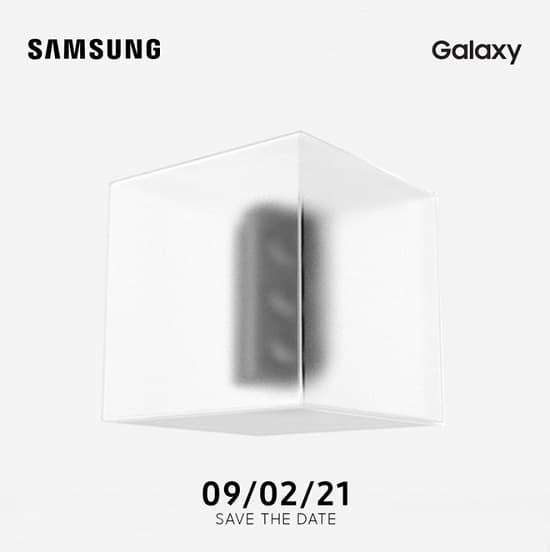 Unpacked 2021 Brasil linha Galaxy S21
