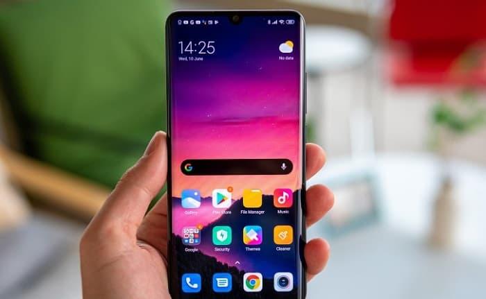 Xiaomi Mi Note 10 Lite update