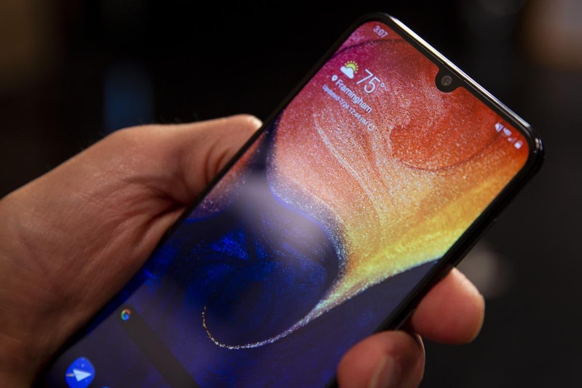 Galaxy A50 atualização