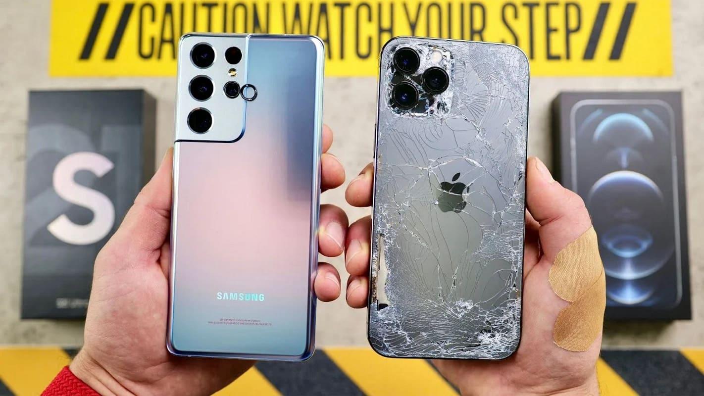 s21 vs iphone 12