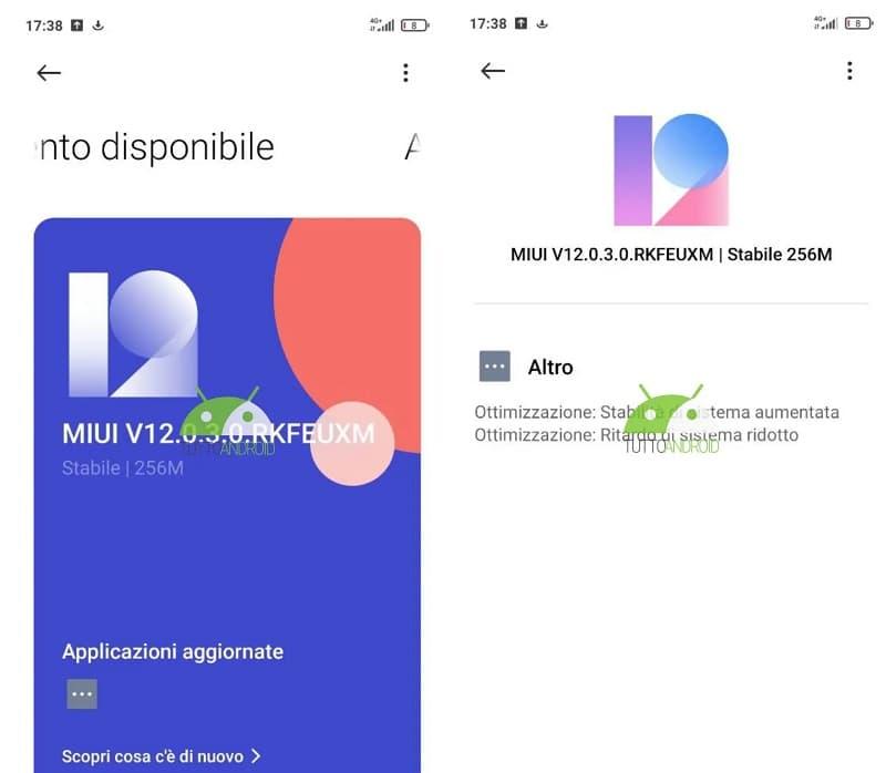 Captura de tela atualização Redmi Note 10 Pro