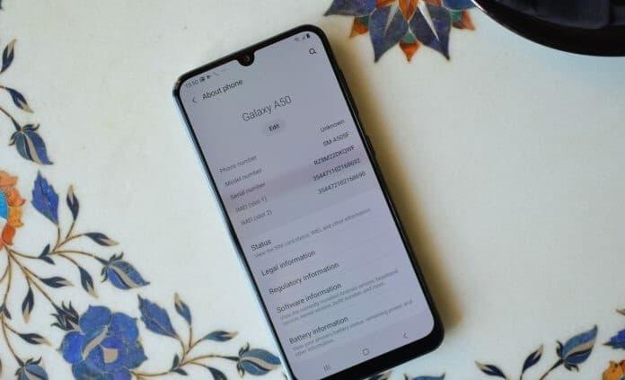 Update Galaxy A50