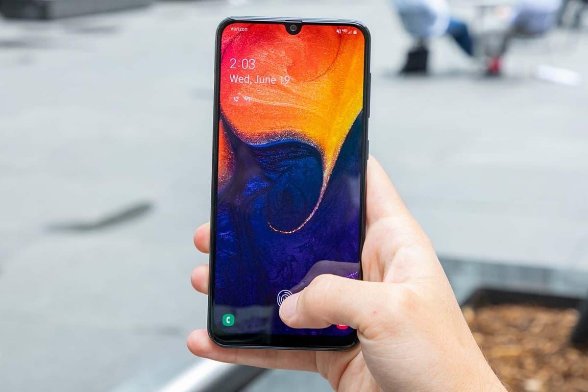 Atualização Galaxy A50 no Brasil