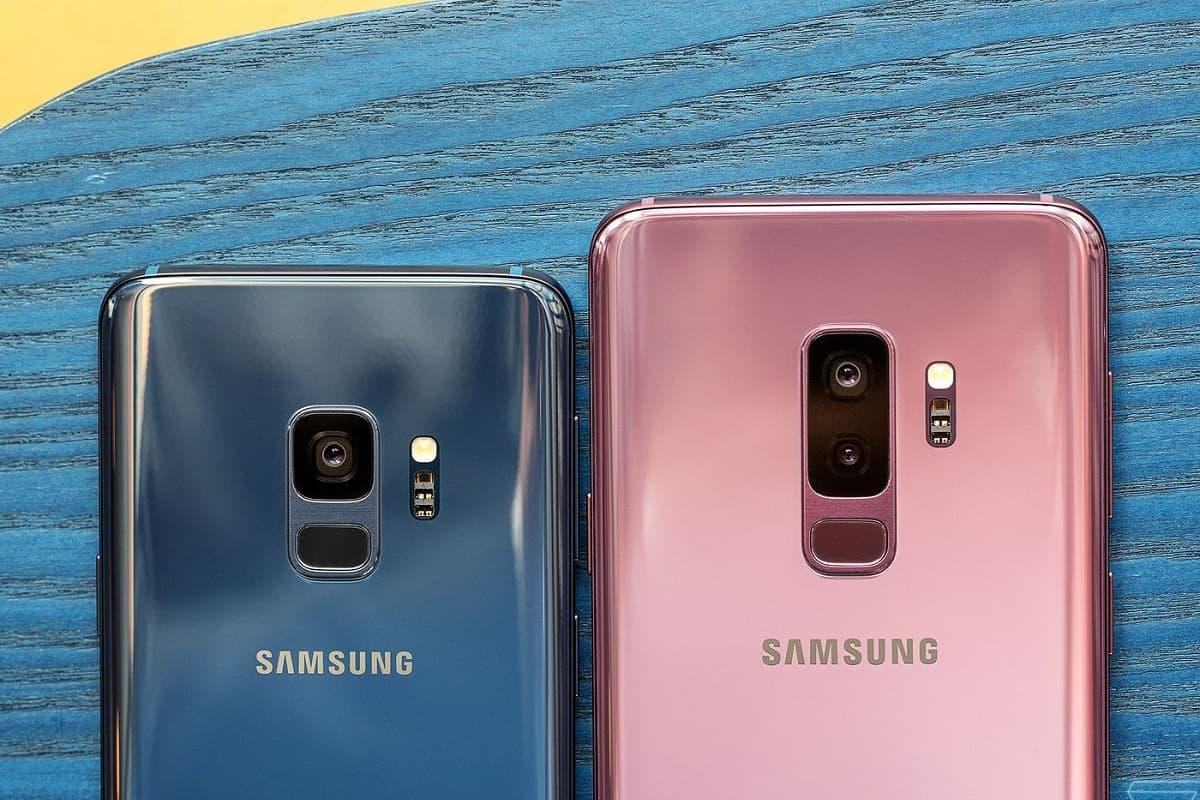 Traseira Galaxy S9 e S9 Plus