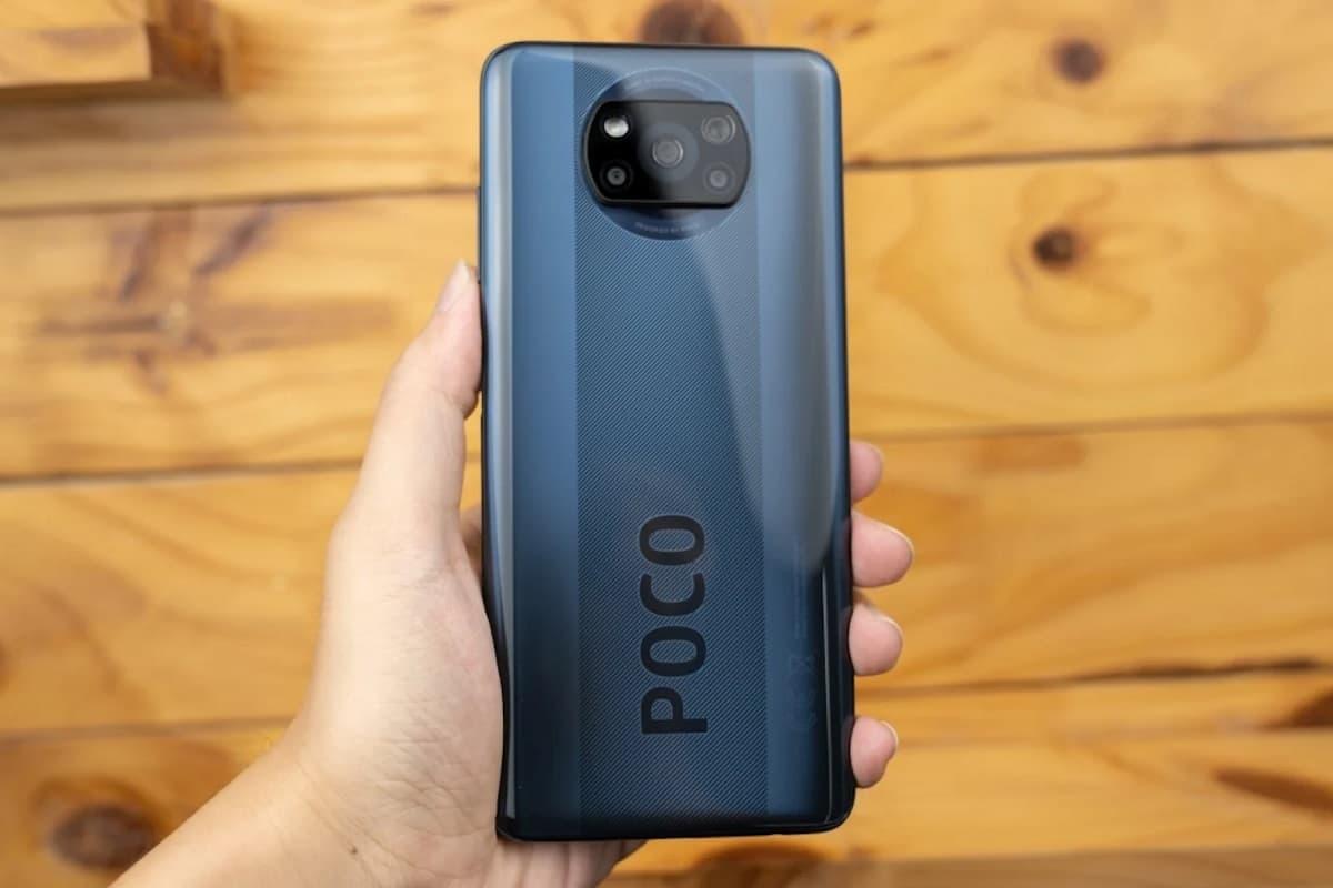 Poco X3 NFC traseira