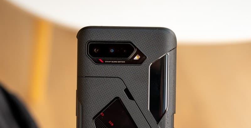 Câmeras iguais as do ROG Phone 3