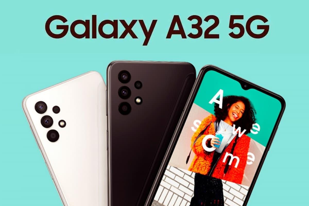Galaxy A32 5G e A02 chegam ao Brasil